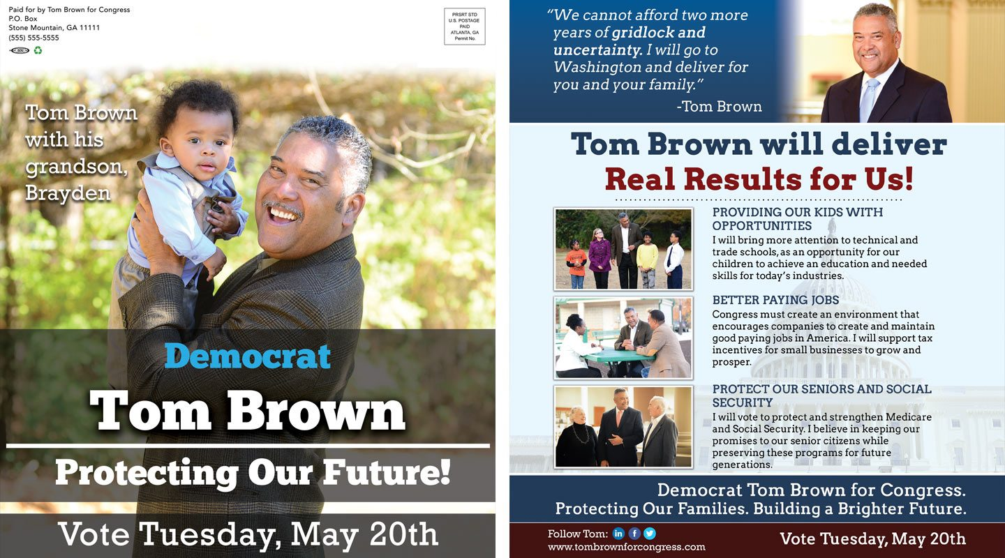 Memorable Mailers Tom Brown Protecting