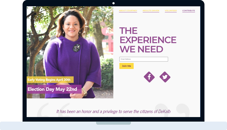 Courtney Johnson website